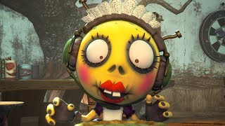 Halloween Cartoons: Zombie Dumb | Part Time Job at the Cafe | Zombie Cartoon | Kids Cartoons