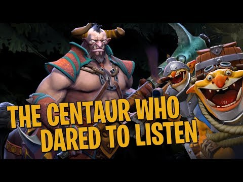 The Centaur Who Dared to Listen - DotA 2 Techies Full Match