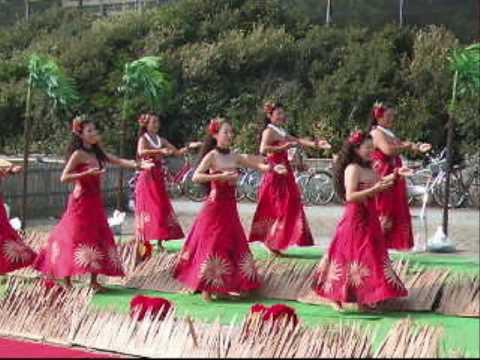 湘南祭2008 フラダンス