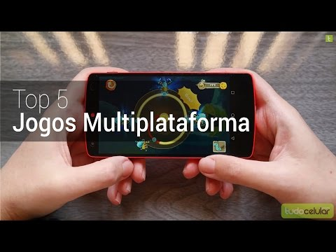 Top 5 Jogos Multiplataforma Android | TudoCelular.com