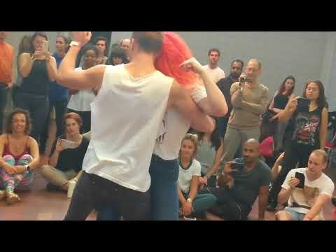 ZNL2018: Leticia & Daniel in Saturday workshop demo2 ~ Zouk Soul