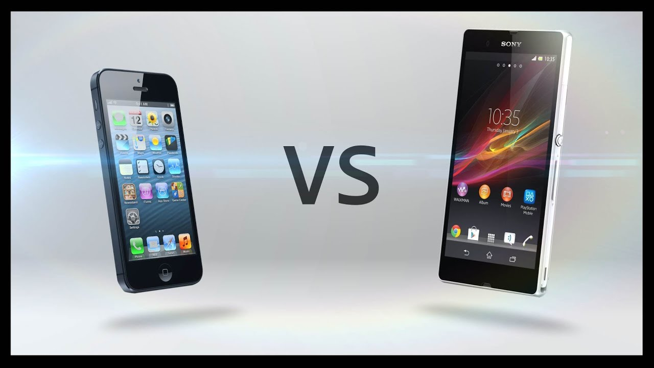 The gallery for --> Xperia Z Vs Iphone 5