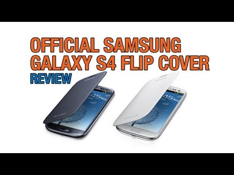 Official Samsung Galaxy S4 Flip Cover Review