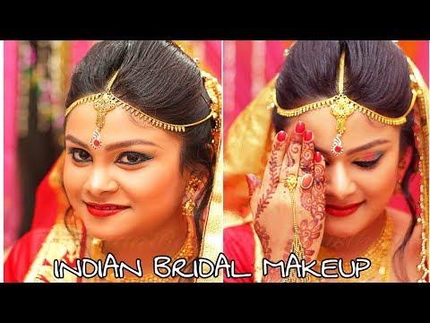 Indian Bridal Makeup Tutorial Step by step Indian Bridal Makeup Tutorial #SHAADI SERIES