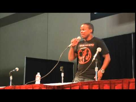 Walter Jones The Original Black Ranger Power MorphiCon 2014 Panel