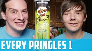 Bros Review Every Pringles Flavor   Part 1