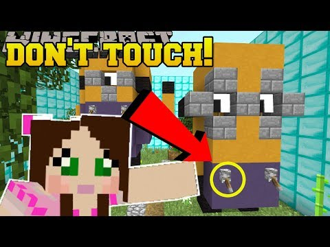 Minecraft: DO NOT TOUCH THIS!!! - Custom Map