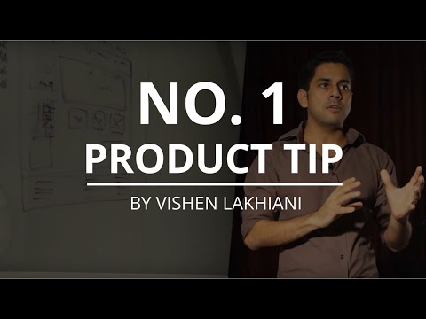 The No.1 Product Tip: Know Your Market Sophistication - Vishen Lakhiani