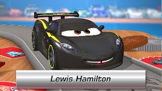 Cars Daredevil Garage LEWIS HAMILTON (Gameplay, Walkthrough) - iOS: iPhone, iPad / Android