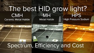 What is the best HID grow light, High Pressure Sodium, Metal Halide or Ceramic Metal Halide?