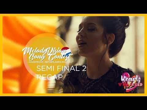 MelodyVision Song Contest #08 // Maastricht // Semi Final 2