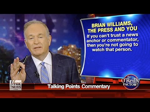 Does Bill O'Reilly Have His Own Brian Williams Problem?