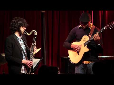 Oran Etkin&Lionel Loueke Duo at Global World Jazz Series Cornelia St Motema