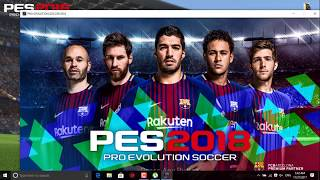 Download Pes 2018 and install it for free RL-House (Links below) PC
