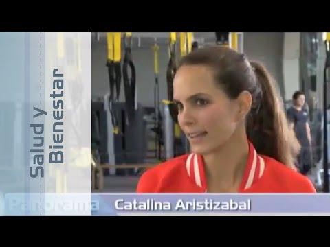Catalina Aristizábal: Ejercicio y alimentación para tener un abdomen plano y marcado