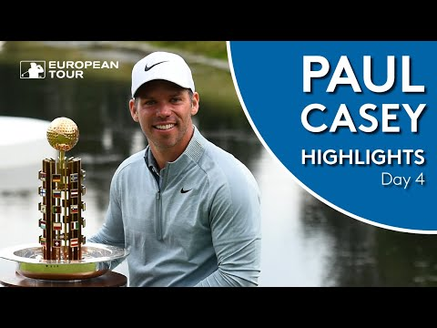 Paul Casey Winning Highlights | Porsche European Open