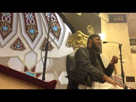 Hafiz Abubakr Hairdrie - Nasheed In Masjid E Noorul Islam Jan 2013 video
