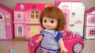 10.Baby Doll dress surprise house and kitchen house play