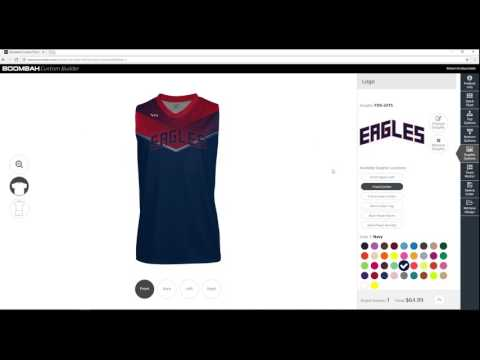 Men's Custom Basketball Uniform Builder - Boombah INK