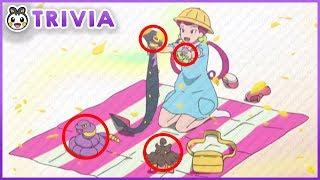 Pokemon Sun and Moon Easter Eggs & Secrets! (Part 5) | Pokemon Anime Trivia