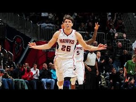 Kyle Korver Games with a 3-Pointer Streak | November 9, 2013 | NBA 2013-14 Season