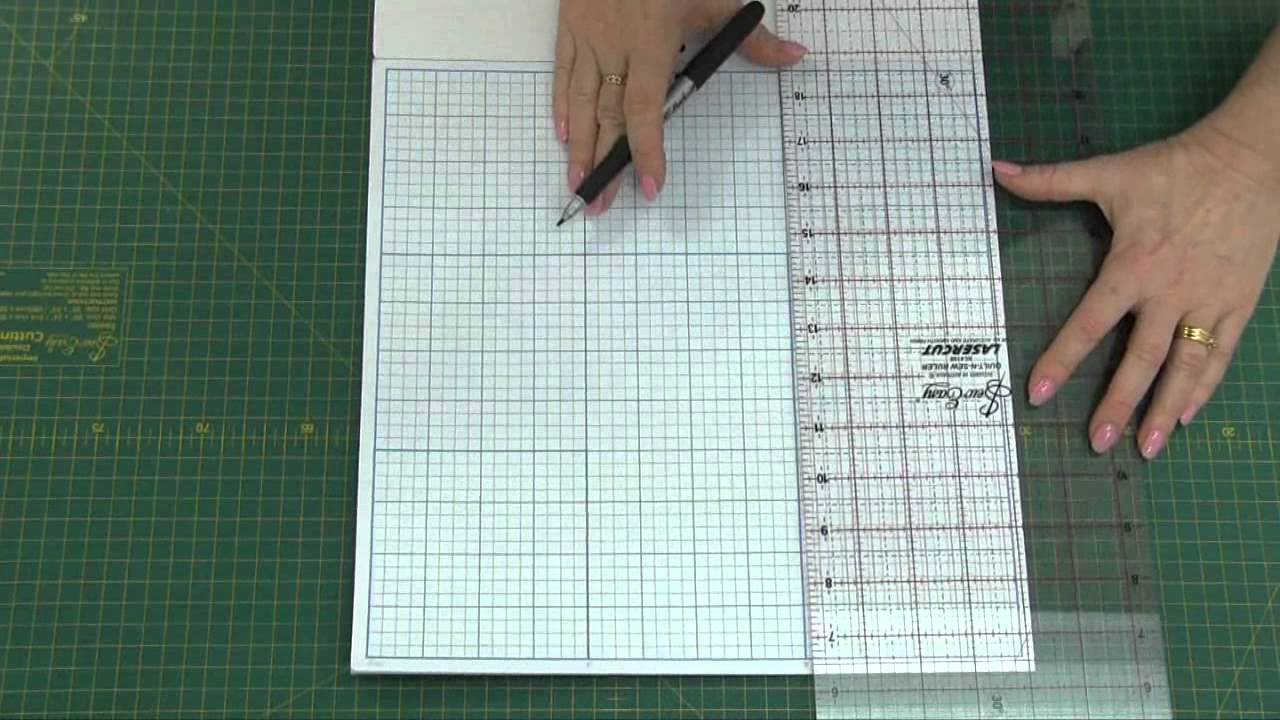 Sew Easy Graph Paper For Quilters And Papercraft Youtube