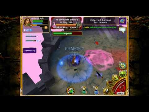 Arcane Legends LoveCraft Event-Hugthulu