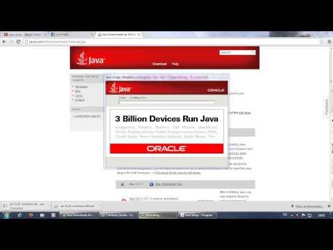 วิธีการดาวโหลด Java 64 bit ครับ