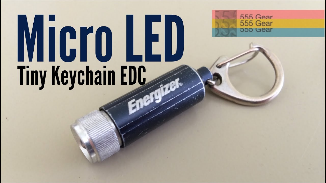 Review: The Suprising Energizer Micro LED Keychain ...