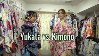 How to differentiate between a Yukata and a Kimono : Japanese traditional clothing