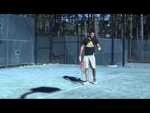 Todd Martin and Mark Kovacs Serve Tips: Clip from Drills and Exercises to Improve Serve DVD