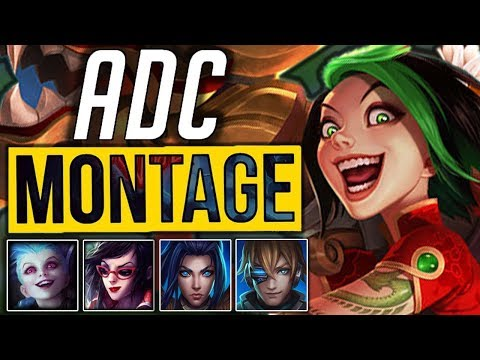 ADC Montage 4  - Best ADC Pentakill Compilation | League Of Legends Mid