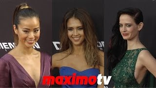 "Jessica Alba, Jamie Chung, Eva Green, Rosario Dawson ""Sin City: A Dame to Kill For"" Premiere"