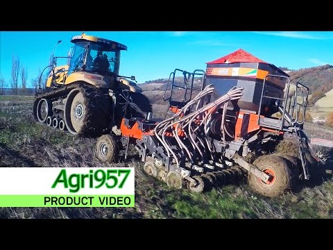 SIEMBRA DIRECTA | SOD SEEDING in EXTREME WET CONDITIONS: VELLA SEMINA DIRETTA Seeder & MT755E