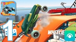 Hot Wheels: Race Off - Gameplay Walkthrough Part 1 - Levels 1-2 (iOS, Android)