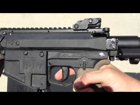 HK416c Cats Stock Air Up Test 2