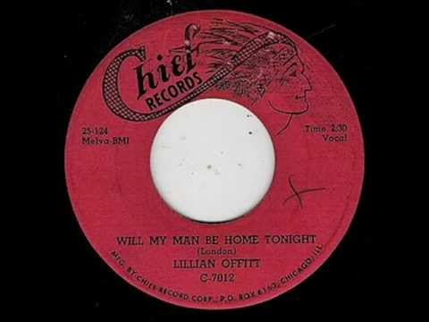 Lillian Offitt w Earl Hooker - Will My Man Be Home Tonight