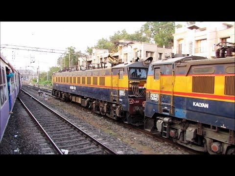 Parallel Action with Powerfull Bankers - Indian Railways !! thumbnail