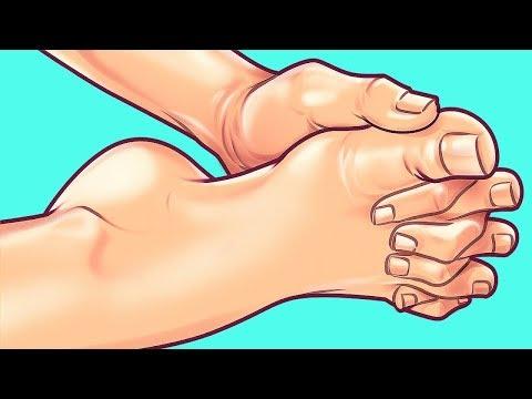 Halte diese Position 10 Sekunden lang und sie wird den Schmerz in deinem Körper lindern