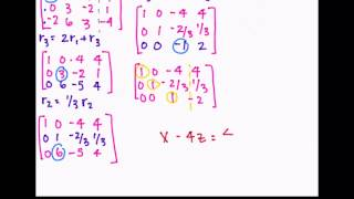 Linear Algebra | Is a Vector B in W? W= Span {a1, a2, a3}