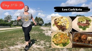 Day 37 & 38 | What I Eat in a Day | Low Carb Keto | Running