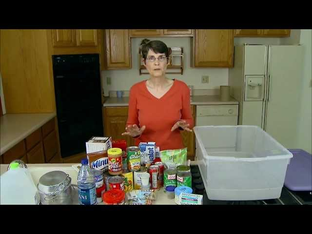 Food Kit for Disaster Preparedness (11/19/11)