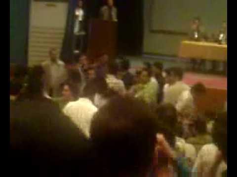 حضور صفار در دانشگاه خواجه نصیر و اعتراض دانشجویان- 5
