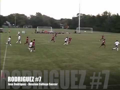 Jose Rodriguez - Hesston College Soccer - Highlight