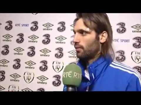 Republic of Ireland v Greece - Post Match Interview - Georgios Samaras (14/11/12)