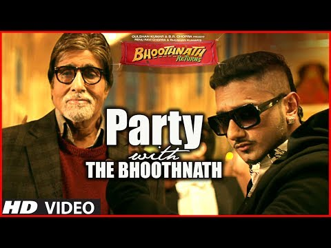 Party With The Bhoothnath Song (Official) | Bhoothnath Returns | Amitabh Bachchan, Yo Yo Honey Singh Music Videos