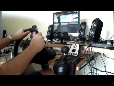 Logitech G27 Review with Live For Speed Gameplay