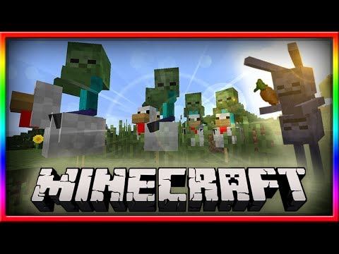 How To Spawn a Chicken Jockey In MineCraft