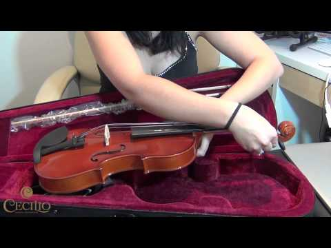 Cecilio and Mendini Violins - Getting Started with the Online Piano and Violin Tutor