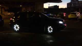 Led light wheels Infiniti FX 35 2007